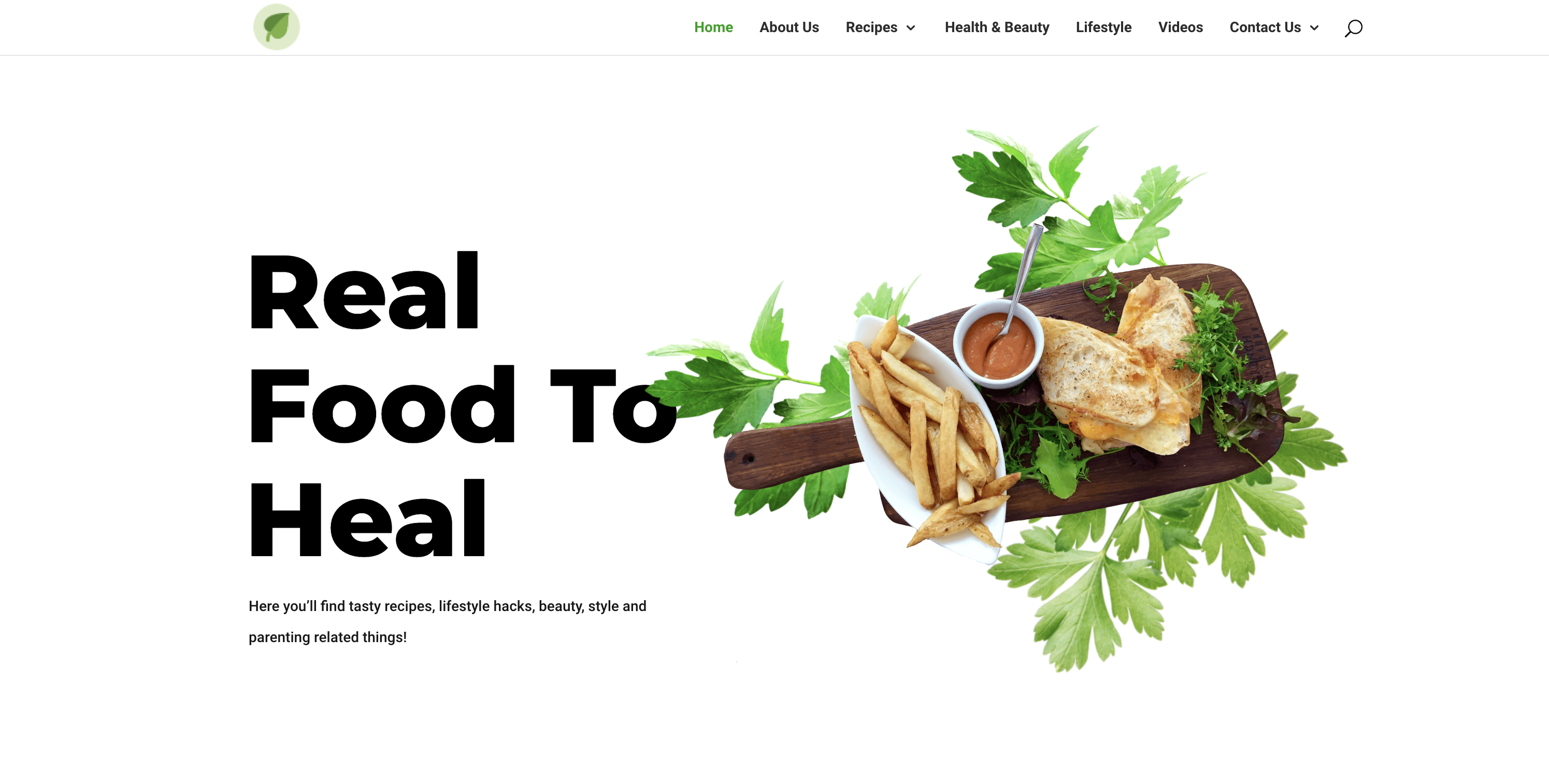 real food to heal - roy wakumelo